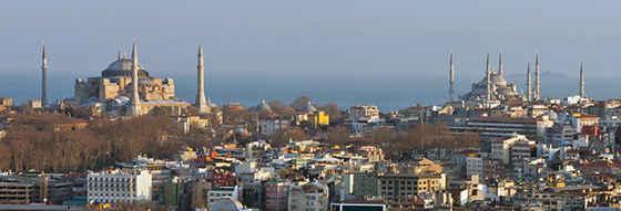 Святая София и Голубая мечеть, Стамбул