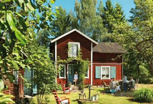 Ландшафтный дизайн: Шведский стиль