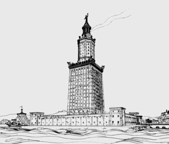Александрийский столп - Александрийский маяк