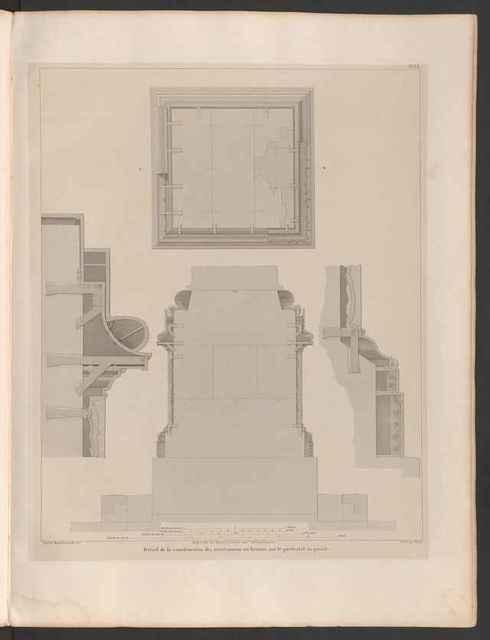 Устройство фундамента Александровской колонны