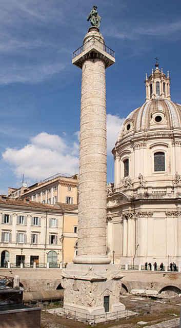 Колонна Траяна в Риме - основа Александрийского столпа
