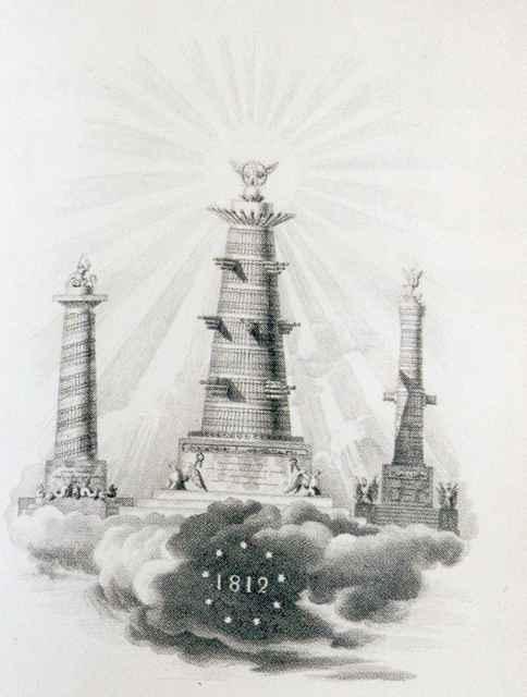 Неутверждённый прект Александровской колонны