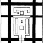 План языческого храма древних славян