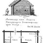 план крестьянской избы прибалтов